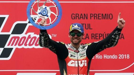 "MotoGp, Argentina: vince Crutchlow, Marquez stende Valentino. Rossi: ""Ho paura, lo fa apposta"""