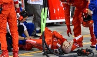 F1, Vettel e un successo dolce amaro. Incidente ai box, inchiesta Fia