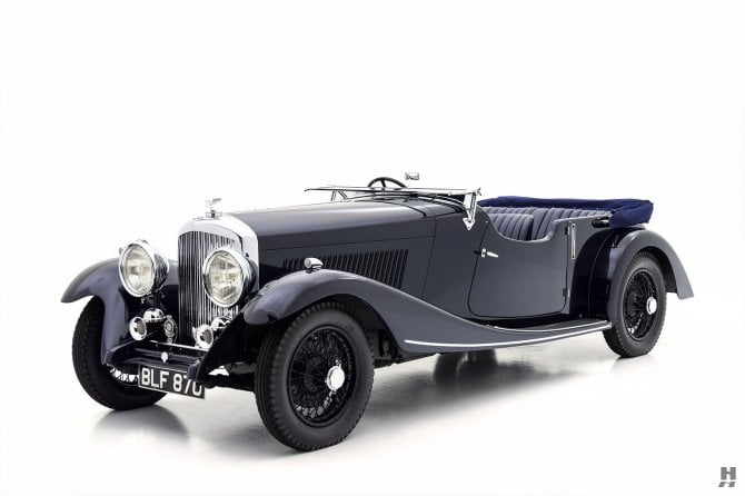 1934 Bentley 3 1/2 Litre Tourer by Vanden Plas