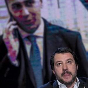 """Salvini: """"Di Maio? Se mi chiama, rispondo"""". La replica: """"Con tutto il centrodestra non faremo nulla"""""""