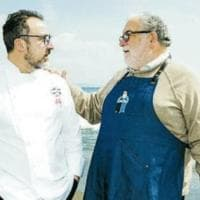 Che incontro tra lo chef stellato e il Babbo Natale della pasta!