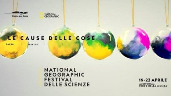 Viaggi nel tempo e negli oceani, parte il Festival delle Scienze di Roma