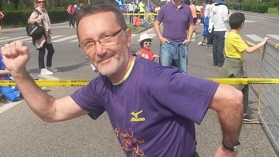 """La sfida di Roberto: """"Sono uomo e ho il cancro alla mammella. Lo combatto anche con la corsa"""""""