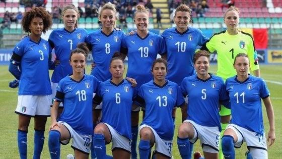 Calcio femminile, grande Italia, il Mondiale è a un passo