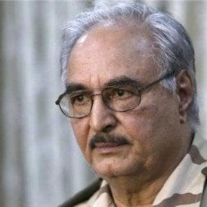 Libia, il generale Haftar colto da malore: ricoverato in gravi condizioni