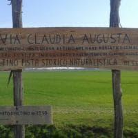 Pedalando lungo la via Claudia Augusta, le immagini del viaggio