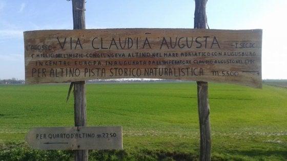 In bici lungo la via Claudia Augusta: il fascino dell'antica Roma rivive a pedali