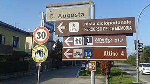 In bici sulla Claudia Augusta