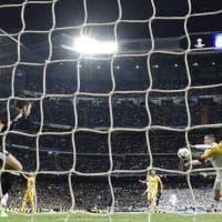 Real Madrid-Juventus: rigore per gli spagnoli, espulso Buffon