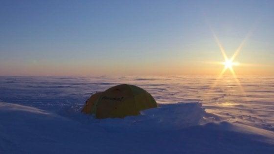 Canada, scoperti due laghi sommersi nei ghiacci artici