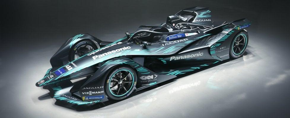 Jaguar, svelata la macchina che correrà la prossima stagione di Formula E