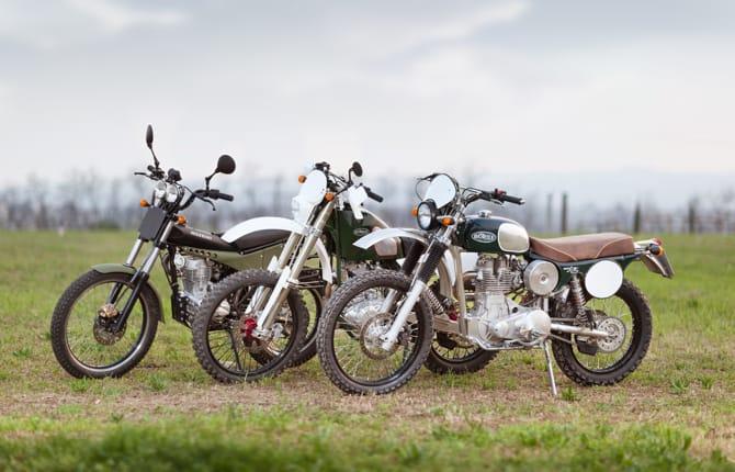 Borile, la moto artigianale pensa al femminile