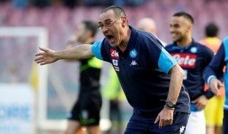 """Napoli, E. De Laurentiis smentisce: """"Mai detto che Sarri andrà via"""""""