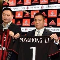 Milan, un anno di Yonghong Lì segnato dalle scadenze. Il presidente: