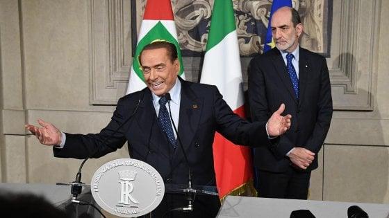 """Consultazioni, l'asse Lega-M5s si impantana su Berlusconi.  Di Maio chiede passo di lato del leader Fi. Salvini: """"No a veti"""""""