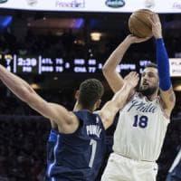 Nba, Belinelli: ''Qui il mio miglior basket, grazie a Philadelphia sono rinato''