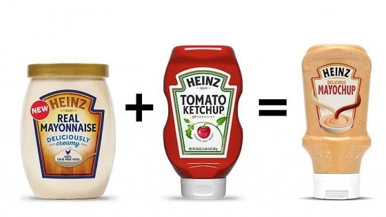 Maionese e ketchup insieme e i fan del fast food impazziscono