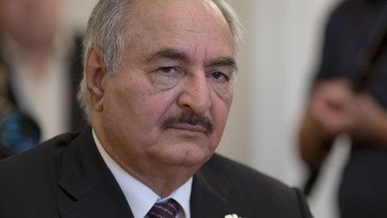 Media: morto generale libico Haftar