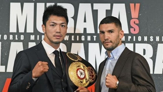 Boxe, il sogno proibito di Blandamura: in Giappone con Murata il mondiale dei medi