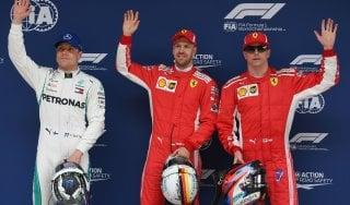 F1, Gp Cina: Ferrari super, Vettel in pole e Raikkonen secondo