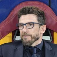 Roma, Di Francesco: ''Derby che vale doppio, impresa con Barcellona può cambiare storia''