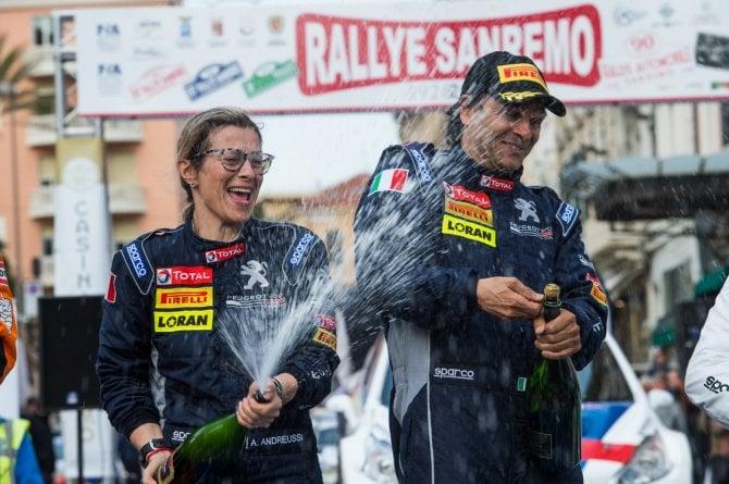 Andreucci vince il Rallye di Sanremo 2018
