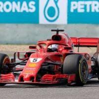 F1, Gp Cina; Vettel: ''Verstappen? Cose che succedono