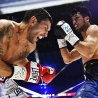 Boxe, mondiale medi: Murata troppo forte, Blandamura si arrende all'ottavo round