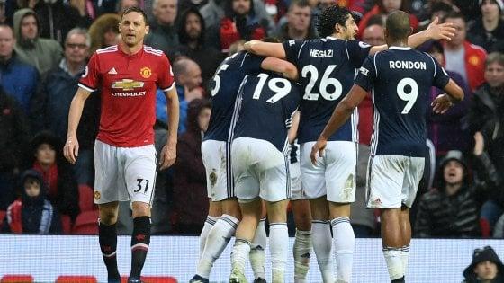 Premier, lo United perde con l'ultima in classifica: il City di Guardiola è campione d'Inghilterra