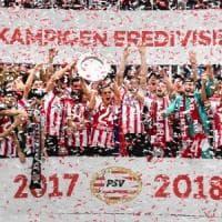 Olanda, festa Psv: schianta l'Ajax e conquista lo scudetto numero 24
