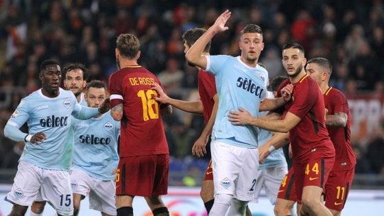 Lazio-Roma 0-0: dal derby un punto per la Champions