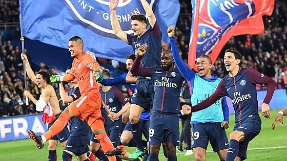 Ligue 1: Monaco umiliato, Psg campione di Francia