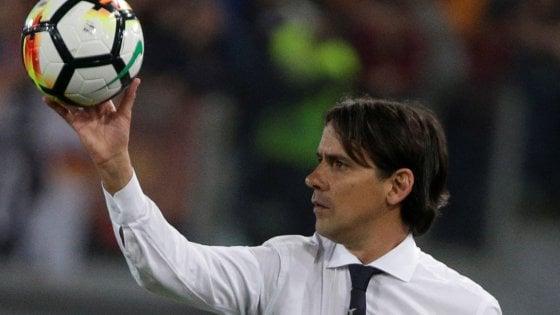 """Lazio, Inzaghi: """"Ottima reazione, per la Champions ci siamo anche noi"""""""