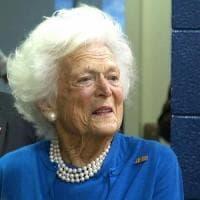 Barbara Bush rinuncia alle cure e sceglie di non rientrare in ospedale