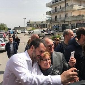 """Salvini a Calenda: """"Mai con il Pd"""". E avverte: """"Se vinco le regionali, governo in 15 giorni"""""""