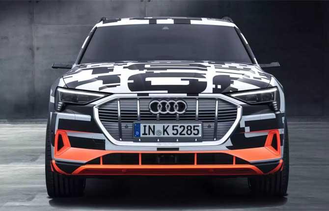 Al via i preordini della e-tron, prima elettrica di serie Audi