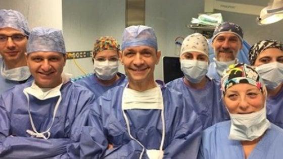 Padova, papà dona una parte del fegato al figlio di un anno e lo salva