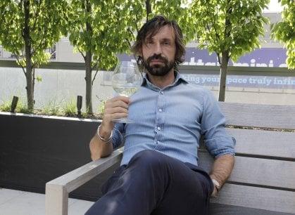 """La seconda vita di Andrea Pirlo: """"Un grande vino è come un grande calciatore: lo riconosci subito"""""""