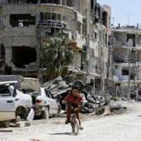 Siria, gli ispettori dell'Opac a Douma