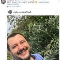 """Salvini sbeffeggia Di Maio: """"C'è chi chiude il forno e chi cura l'orto"""""""