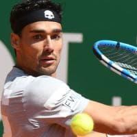 Tennis, festa azzurra a Montecarlo: Fognini, Seppi e Cecchinato al 2° turno