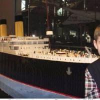 L'impresa di un ragazzino autistico islandese: riprodurre il Titanic con i mattoncini Lego