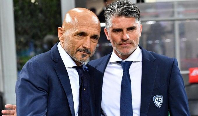 """Cagliari, Lopez: """"Il primo gol ci ha tagliato le gambe"""""""