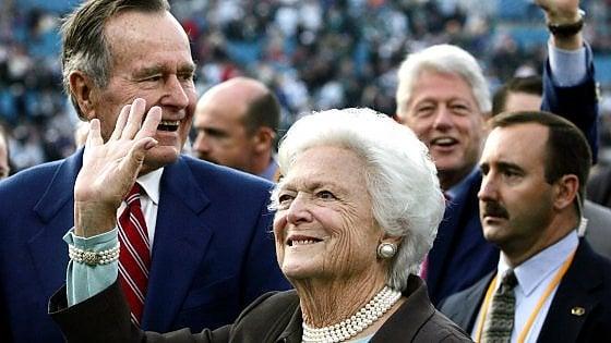 Usa, morta l'ex first lady Barbara Bush: aveva 92 anni
