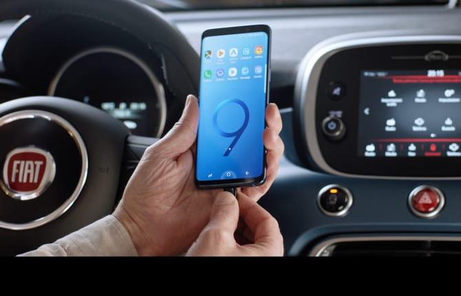 Fiat e Samsung, un pacchetto unico
