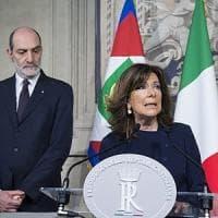 """Colle, mandato """"mirato"""" a Casellati: 2 giorni per verificare l'ipotesi di un governo tra..."""