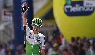 Ciclismo, Tour of the Alps: O'Connor primo a Merano. Pinot in maglia ciclamino