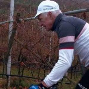 """Ciclismo, """"Moser, scacco al tempo"""": lo Sceriffo diventa un film"""