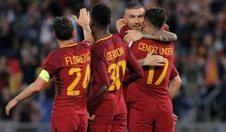 Roma-Genoa 2-1, Under e un autogol: i giallorossi restano terzi