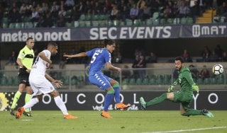 Verona-Sassuolo 0-1, Lemos avvicina i neroverdi alla salvezza